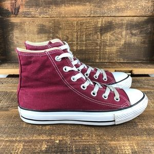 Women's Converse Chuck Taylor Red Shoes Size 7
